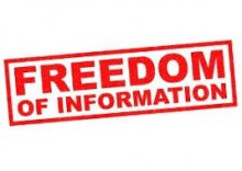 Freedom of Information stamp